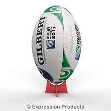 Rugby Ball Display Stand Custom Acrylic Rugby Ball Ball Display Stand Riser Plinth Red 32 Colours