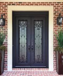 Wrought Iron Entry Systems in Atlanta, GA | Jennifer's Glass Works