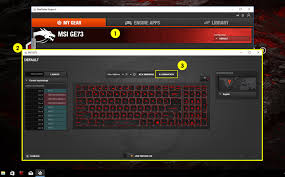 Msi Laptop Keyboard Lights Control Lit Af Setting Up Your Per Key Rgb Keyboard