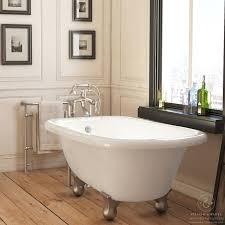 55 inch clawfoot tub. pelham \u0026 white luxury 54 inch clawfoot tub with nickel cannonball feet (classic - acrylic 55