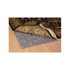 dual purpose premium cushioned non slip rug pad for rugs over hard surface or carpeted floors that helps keep rugs in place to prevent bunching and