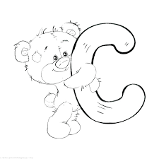Coloring Pages For Letters Z4596 Letter B Coloring Pages For Adults