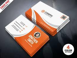 Free Design Business Cards Simple Business Card Design Free Psd Psdfreebies Com