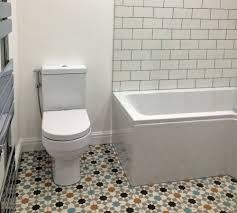tiling around a toilet