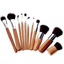 sable makeup brush set