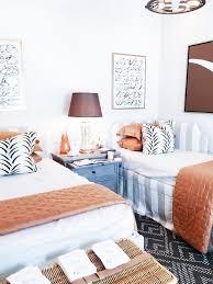 guest room ideas burnt orange themed