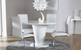 white round dining table. great small white dining table and chairs round pythonet home l