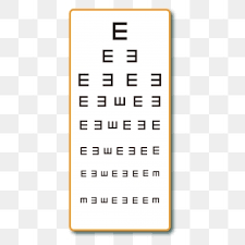Snellen Chart Free Download Eye Chart Png Images Vector And Psd Files Free Download