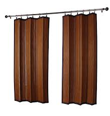 com versailles home fashions indoor outdoor bamboo panel 72 inch espresso home kitchen