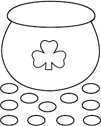 Small Picture Pot Of Gold Coloring Pages Coloring Home