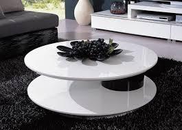black and white modern furniture. round shaped modern white and black coffee table omaha nebraska prime classic design inc italian furniture luxury designer