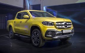Mercedes Benz Shows Production X Class Pickup Truckstill Not For Us ...