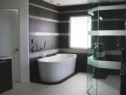 Black And White Bathroom Ideas Grey White Brown Color Scheme Ideas ...