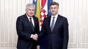 Image result for kolinda grabar, andrej plenkovic dragan covic  tomson