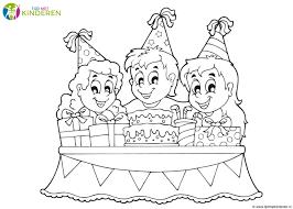 Mooie Jarig Verjaardag Kleurplaten Leuk Voor Kids Verjaardag