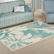 palm tree indoor outdoor rugs koa rectangle rug teal