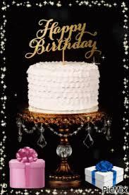Happy Birthday Cake Gif Happybirthday Cake Discover Share Gifs