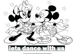 Minnie Mouse Christmas Coloring Pages Printable Free Mouse Coloring