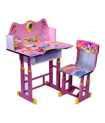 Wood Wizard Barbie Kids Study Table Set ...