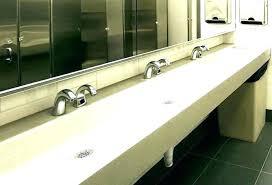 trough sink two faucets 2 faucet trough bathroom sink trough sink two faucets lovely home improvement s trough sink with double faucets