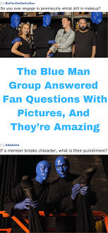 blue man group this or that questions