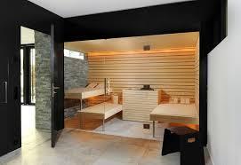 Kung saunas installs contemporary-bathroom