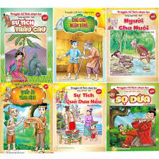 Bộ 20 tập truyện tranh cổ tích song ngữ cho bé - Mẹ Mìn