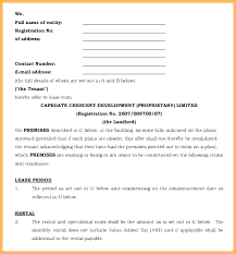 Office Rental Agreement Template Commercial Space Lease Agreement Sample Onourway Co