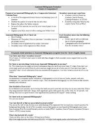 Annotated Bibliography Resource One Unc Thesis Submission