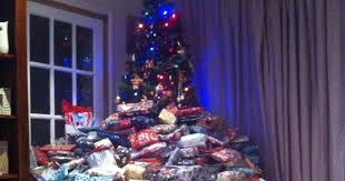 Mother Defends Viral Photo of Family Christmas Tree Piled High ...