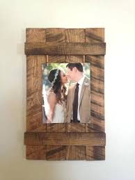 what a cute framing idea rustic 8x10 picture frames white