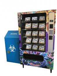 Sharps Kit Vending Machine Classy Reducing Risk In Sin City POZ