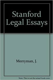 stanford legal essays j merryman com books