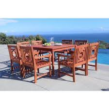 malibu 8 seater patio furniture set. malibu 9-piece square patio dining set 8 seater furniture