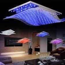 color changing led crystal chandelier