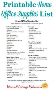 cleaning supplies list home office supplies list oyle kalakaari co