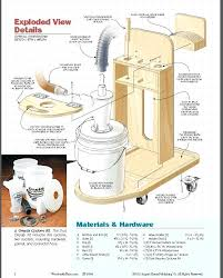 diy dust collection system homemade cyclone dust collector plans diy dust collection system table saw