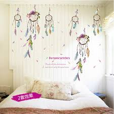 Dream Catcher With Quote Stunning Dreamcatcher Campanula Quote Feather Home Decal Wall Sticker Family