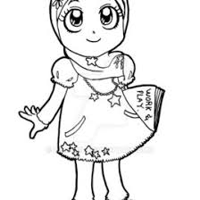 Muslim Girl Drawing At Getdrawingscom Free For Personal Use