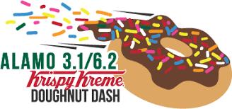Alamo 3.1 / 6.2 Krispy Kreme Doughnut Dash | Alamo 13.1