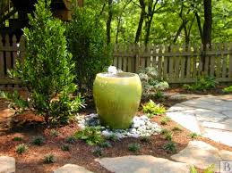 Small Picture Garden Design Garden Design with Backyard Patio and Water Feature