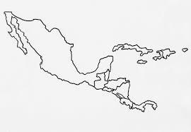 Latin America Outline Maps Blank Latin America Map Jinyande Me Inside Central Keshmiri Me