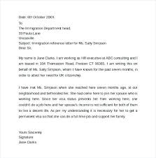 Reference Letter For Employee For Immigration Tsurukame Co