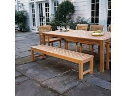 used teak furniture. Kingsley Bate Waverly Teak Backless Bench Used As Dining Furniture N