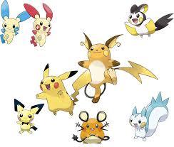 Minun Evolution Chart Pin By Nyssa Athena On Pokemon Pokemon Pikachu Game