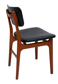 Danish Design Furniture Cheap Exclusive Danish Modern Teak And Black Leather Dining Chair