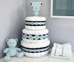 diy diaper cake decoration via s