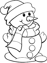 Small Picture Printable Snowman Coloring Pages For Kids Free Printable Coloring