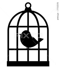 鳥かごのイラスト素材 7753378 Pixta