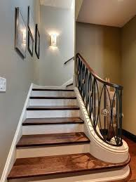 staircase lighting design. Incredible Decoration Stair Wall Lights Wooden Stairs Ideas Light And Designs Classic Staircase Lighting Design